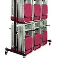 Image for Jemini 140 Capacity Folding Chair Trolley (Pack of 1)