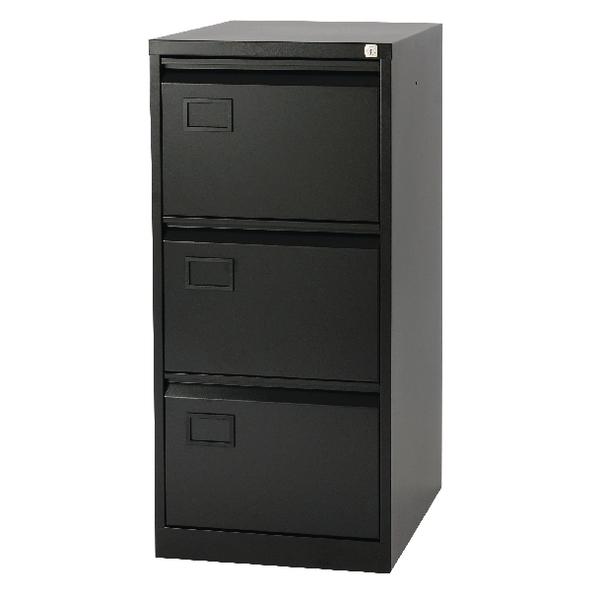 Jemini Black 3 Drawer Filing Cabinet AOC3-AV1