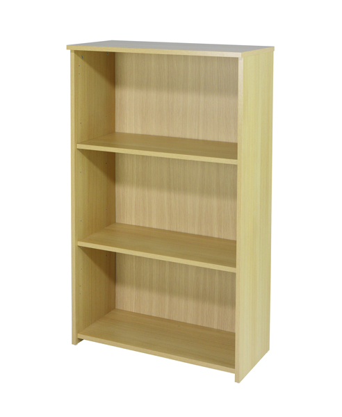 Jemini 1200mm Medium Bookcase Ferrera Oak