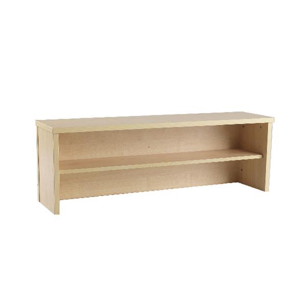 Jemini Intro 1200mm Reception Desk Riser Warm Maple