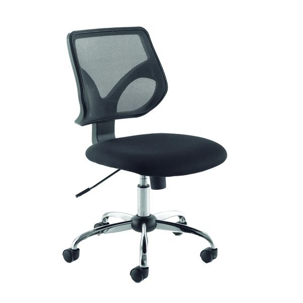 Jemini Medium Back Task Black Chair