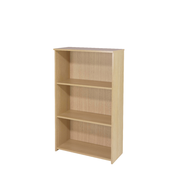 Image for Jemini Warm Maple 1200mm Medium Bookcase