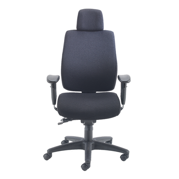 Avior Elbrus High Back Operator Black Chair