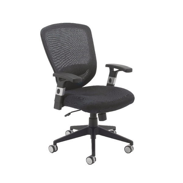 Arista Fusion High Back Mesh Chair With Lock and Tilt Black