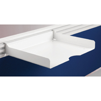 Arista Letter Tray White (Pack of 1)