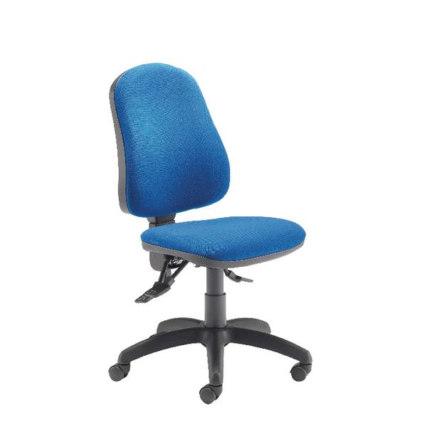 Jemini Plus Deluxe High Back Operator Blue Chair