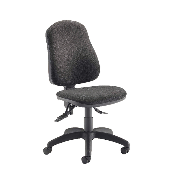 Jemini Plus Deluxe High Back Operator Charcoal Chair