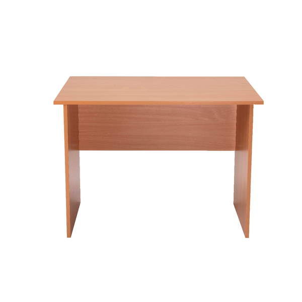 Image for Jemini Intro 1000mm Bavarian Beech Panel End Desk