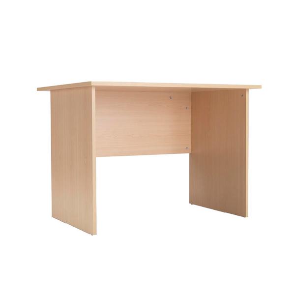Image for Jemini Intro 1000mm Warm Maple Panel End Desk