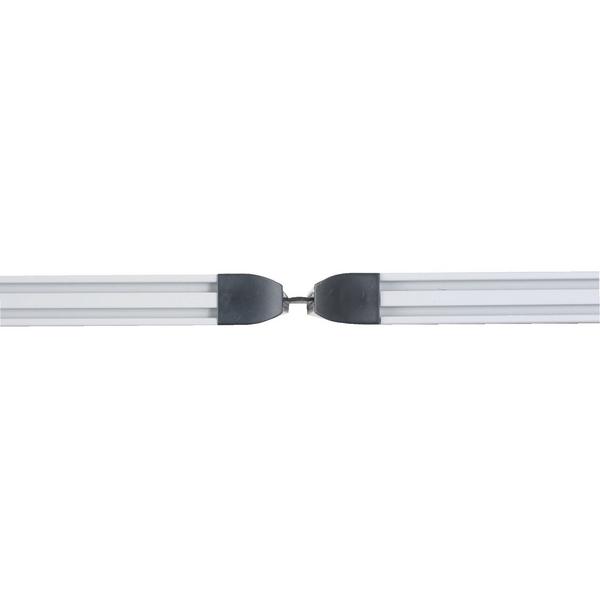 2 Way 1400mm Rigid Linking Strip Floorstanding