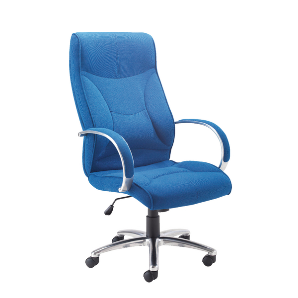 Avior High Back Executive Blue Chair