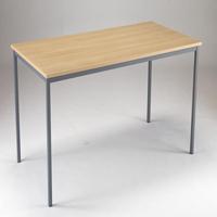 Image for Jemini Intro 1500x750x726mm Ferrera Oak Training Table