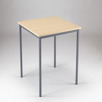 Image for Jemini Intro 750x750x726mm Warm Maple Training Table