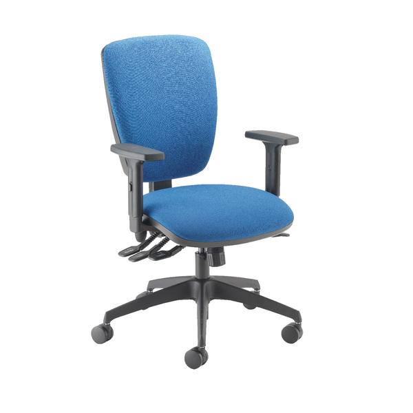 Cappela Petite Posture Chair Square Back Blue