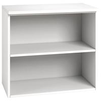 Image for Arista Desk High Bookcase Single Shelf White
