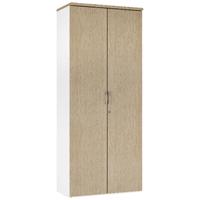 Image for Arista 1900mm Tall Cupboard Four Shelves Oak