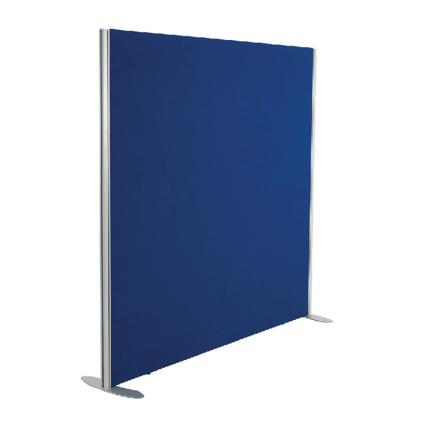 Jemini 1200x1200 Blue Floor Standing Screen Including Feet