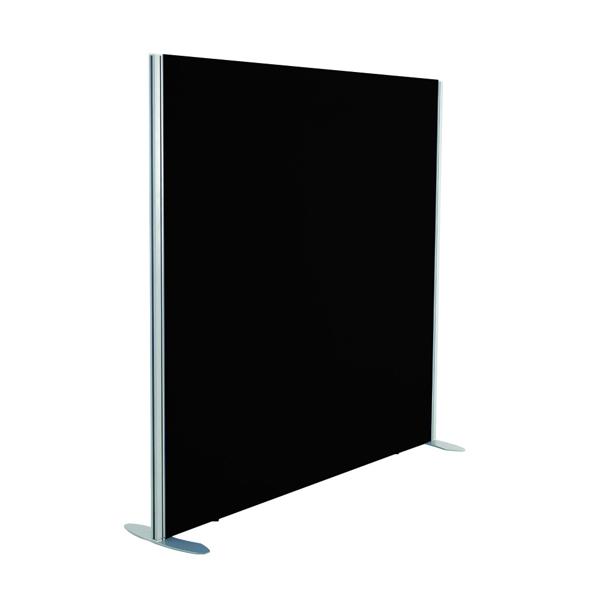 Jemini 1600x800 Black Floor Standing Screen Including Feet