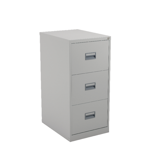 Image for Talos 3 Drawer Filing Cabinet Grey
