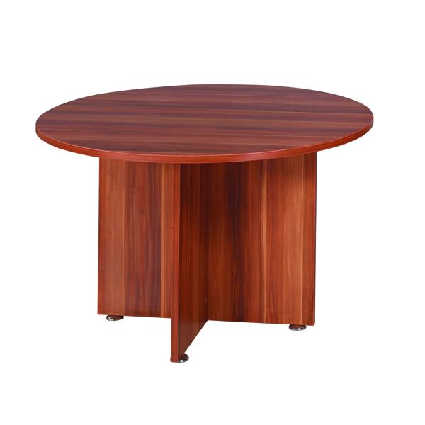 Avior Cherry 1200mm Round Meeting Table