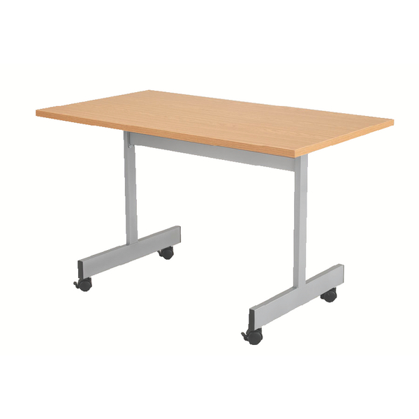 Jemini Oak 1600mm Flip Top Table