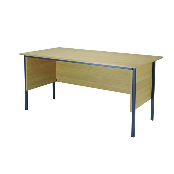 Jemini Ferrera Oak 1500mm Four Leg Desk