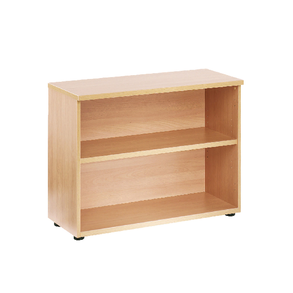 Jemini Beech 730mm 1 Shelf Bookcase (Pack of 1)