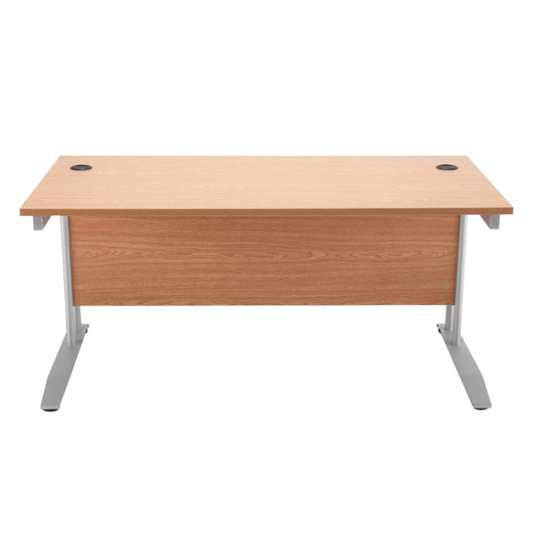 Image for Arista 1600mm Rectangular Desk Beech