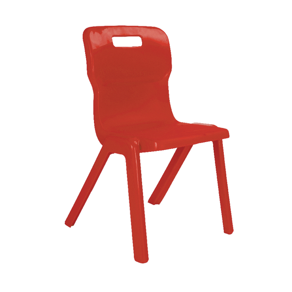 Titan 1 Piece 350mm Red Chair (30 Pack) KF838733