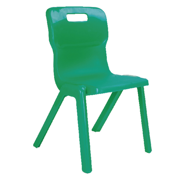 Titan 1 Piece 350mm Green Chair (30 Pack) KF838735