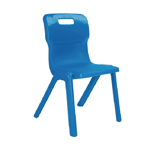 Titan 1 Piece 380mm Blue Chair (30 Pack) KF838739