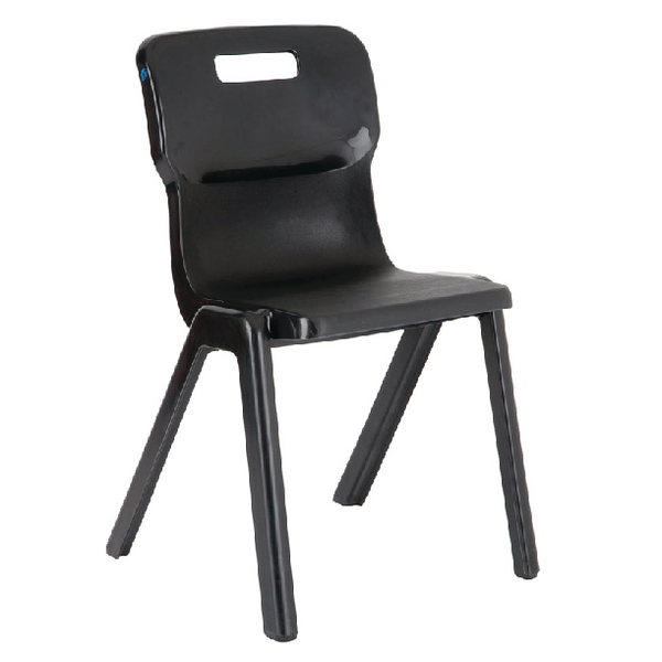 Titan 1 Piece 380mm Charcoal Chair (30 Pack) KF838741
