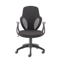 Image for Arc Mesh Chair Black (Pack of 1)