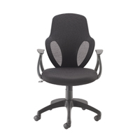 Image for Arc Mesh Chair Black (Pack of 12)