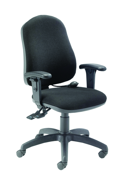 Posture Chair With Arms Charcoal