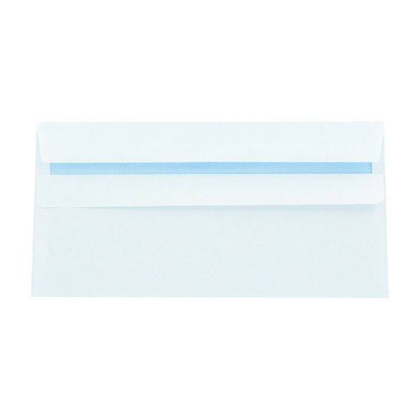 DL Envelopes Self Seal 120gsm White (Pack of 1000) 81414