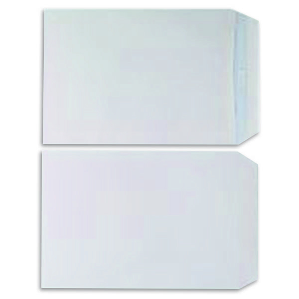 Pocket C5 Envelopes 100gsm Self Seal White (Pack of 500) KF97367