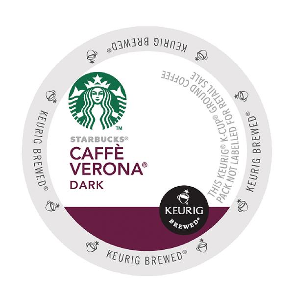 Starbucks Caffe Verona Pods (Pack of 24) 93-07020