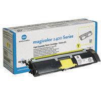 Konica Minolta Magicolor 2430Dl/2400W/2500W Yellow Toner 1710589-005