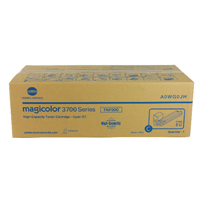 Konica Minolta A0WG0JH Cyan High Yield Toner Cartridge