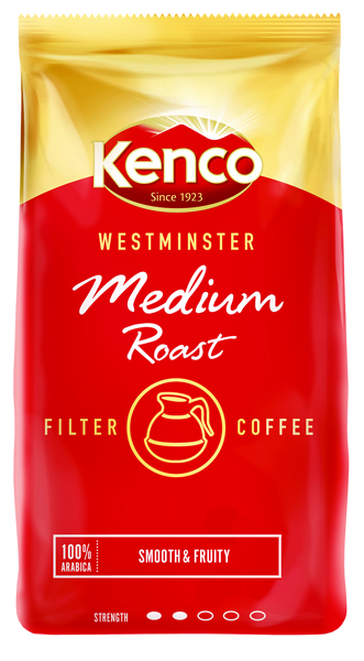 Kenco Westminster Medium Roast Ground Filter Coffee 1kg 24174