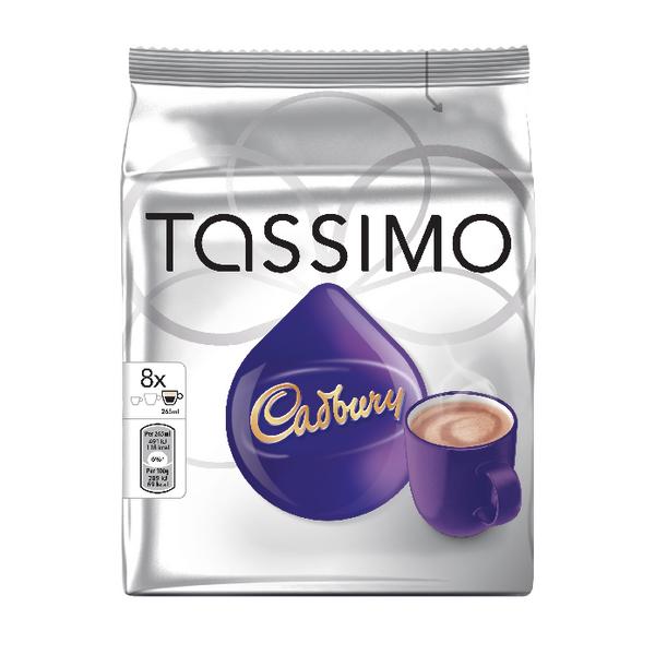 Tassimo Cadbury Hot Chocolate 8x240g Capsules (Pack of 5) 131270