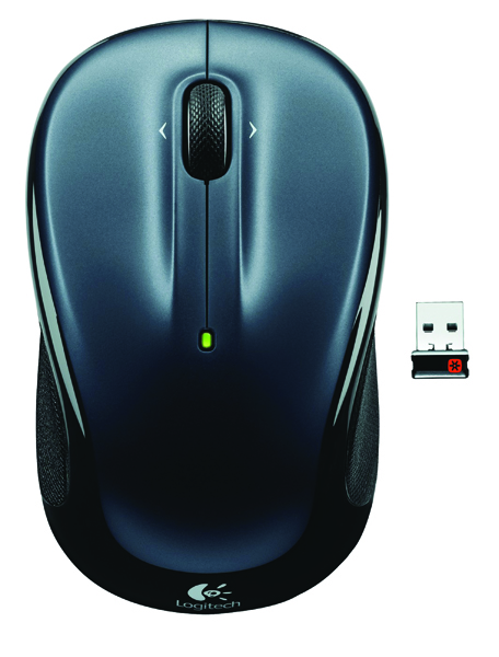 Logitech Dark Silver M325 Wireless Mouse 910-002142