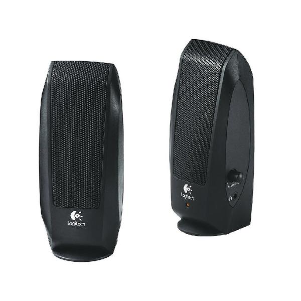 Logitech S-120 Speaker System Black 980-000011