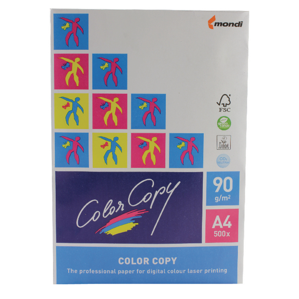 Color Copy White A4 90Gm2 Fsc4 Pk500