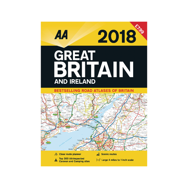 Image for AA Road Atlas Great Britain and Ireland 9780749573560