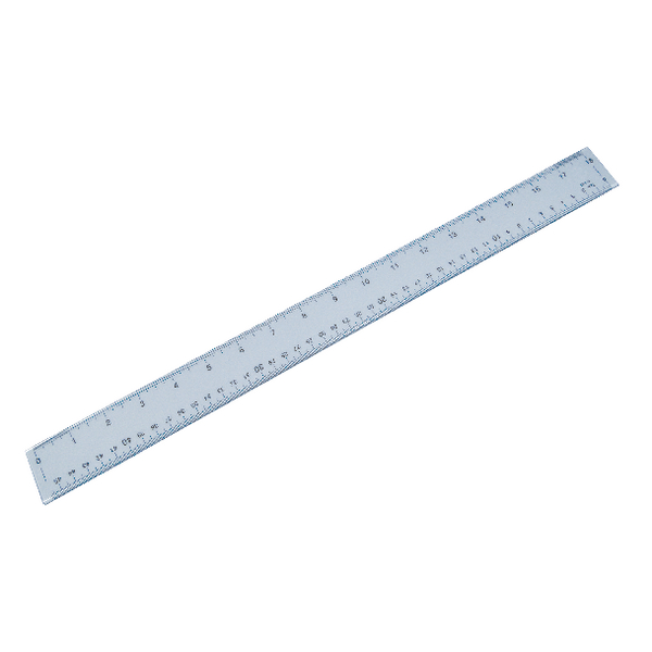 Plastic Shatterproof Ruler 50cm (Pack of 1) 843800/1