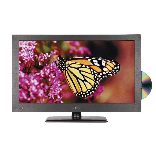 Image for Cello Black 22in HD Ready Super Slim LED TV/DVD Combo C22230F