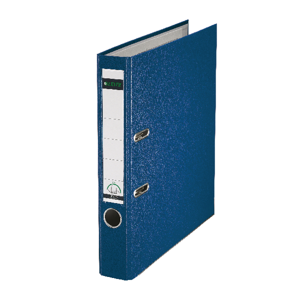 Leitz Blue Mini A4 Lever Arch File 52mm (Pack of 10) 10151035