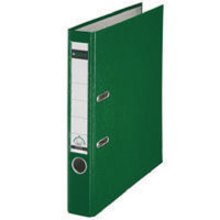 Leitz Mini Arch File Polypropylene A4 52mm Green (Pack of 10) 101555